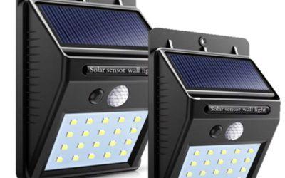 New Solar Lights in stock