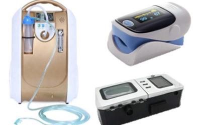 Just Unpacked – Oxygen, Bipap, Oximeter